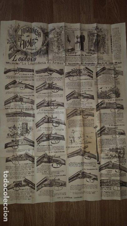 LA LOGROÑESA DE ARMAS - CATÁLOGO DE 1929 - 1930 (Coleccionismo - Catálogos Publicitarios)