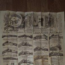Catálogos publicitarios: LA LOGROÑESA DE ARMAS - CATÁLOGO DE 1929 - 1930. Lote 174045525