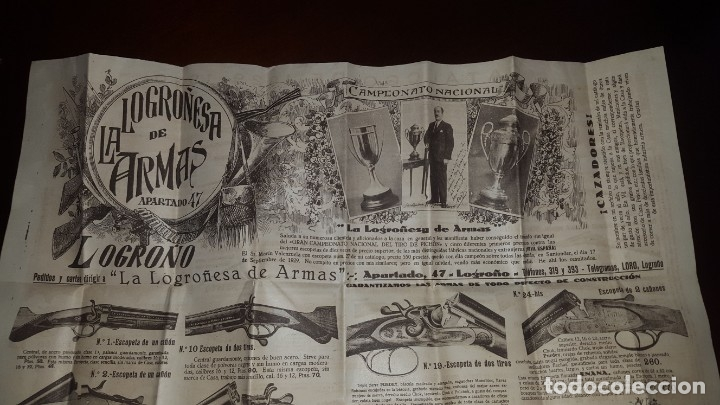 Catálogos publicitarios: La Logroñesa de Armas - Catálogo de 1929 - 1930 - Foto 9 - 174045525