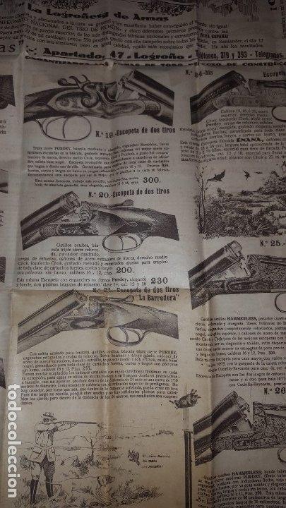 Catálogos publicitarios: La Logroñesa de Armas - Catálogo de 1929 - 1930 - Foto 10 - 174045525