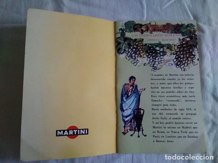 Catálogos publicitarios: 5-FOLLETO PUBLICITARIO MARTINI LOS COCKTELES MAS EN BOGA - Foto 2 - 174064708
