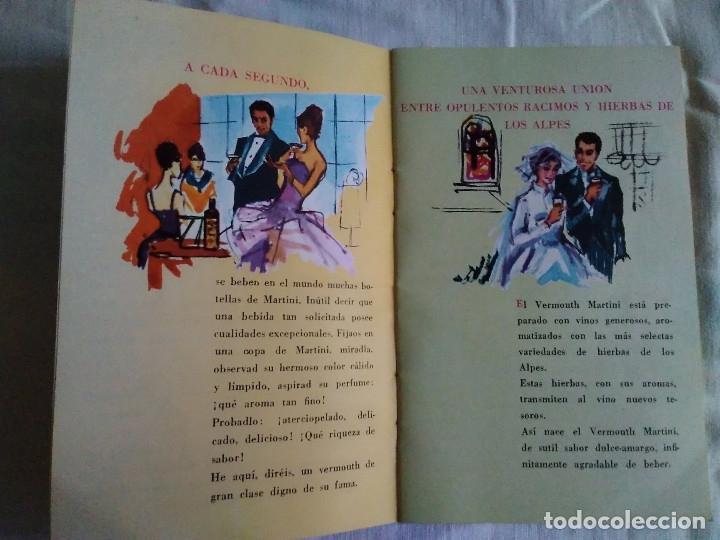 Catálogos publicitarios: 5-FOLLETO PUBLICITARIO MARTINI LOS COCKTELES MAS EN BOGA - Foto 3 - 174064708