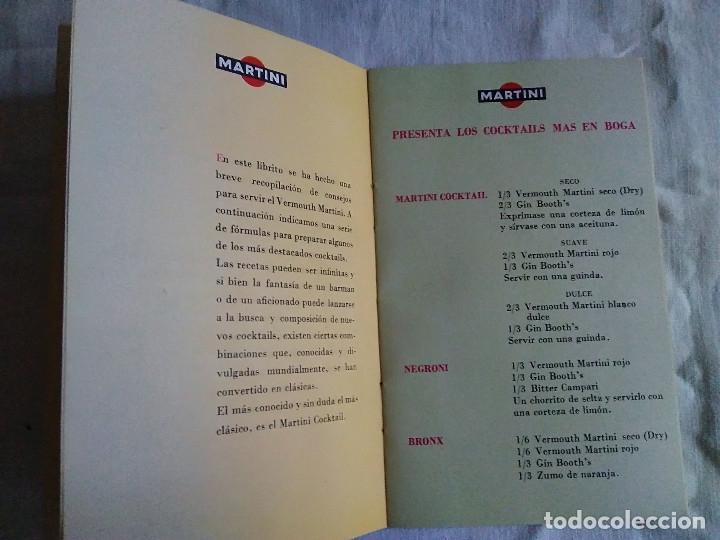 Catálogos publicitarios: 5-FOLLETO PUBLICITARIO MARTINI LOS COCKTELES MAS EN BOGA - Foto 4 - 174064708