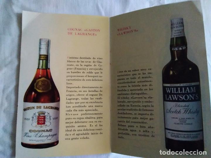 Catálogos publicitarios: 5-FOLLETO PUBLICITARIO MARTINI LOS COCKTELES MAS EN BOGA - Foto 5 - 174064708