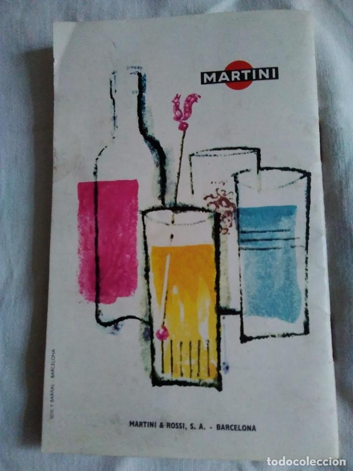 Catálogos publicitarios: 5-FOLLETO PUBLICITARIO MARTINI LOS COCKTELES MAS EN BOGA - Foto 7 - 174064708