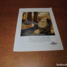 Catálogos publicitarios: PUBLICIDAD 1994: RELOJ TISSOT BALLADE. Lote 174267920