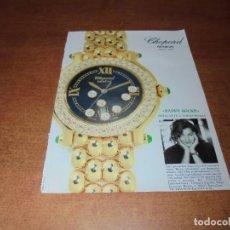 Catálogos publicitarios: PUBLICIDAD 1994: RELOJ CHOPARD GENÈVE. Lote 174267999