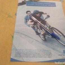 Catálogos publicitarios: ANTIGUO ANUNCIO PUBLICIDAD REVISTA SERVICIO ENERGETICO IBERDROLA ESPECIAL PARA ENMARCAR. Lote 174404638