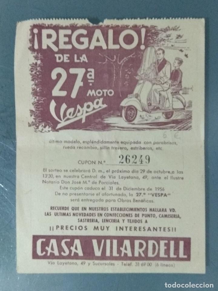CASA VILARDELL - FOLLETO PUBLICITARIO (BARCELONA). (Coleccionismo - Catálogos Publicitarios)