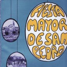 Catálogos publicitarios: FIESTA MAYOR SAN PEDRO 1968 MASNOU PROGRAMA MÉS PUBLICITAT. Lote 175223597