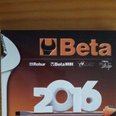 Catálogos publicitarios: CATÁLOGO DE HERRAMIENTAS BETA 2016. Lote 175403337