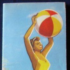 Catálogos publicitarios: ANTIGUO PLANO TURÍSTICO DE LA CIUDAD DE SAN SEBASTIAN. DONOSTIA. PAIS VASCO. Lote 175552917