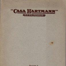 Catálogos publicitarios: CATÁLOGO DE INSTRUMENTOS DE CIRUGÍA. CASA HARTMANN. OTTO MAIER. 1924. - 112 PAGINAS DE 28X22 CM.. Lote 175631723