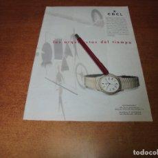 Catálogos publicitarios: PUBLICIDAD 1993: RELOJ EBEL. Lote 175731205