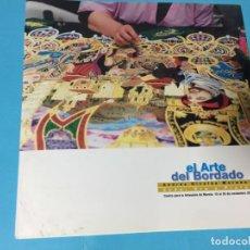 Catálogos publicitarios: FOLLETO CATALOGO EL ARTE DEL BORDADO MURCIA LORCA CARTAGENA PÁGINAS . Lote 175818822