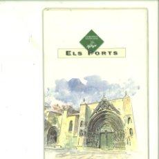 Catálogos publicitarios: ELS PORTS. COMUNITAT VALENCIANA. FOLLETO PUBLICITARIO. Lote 175828640