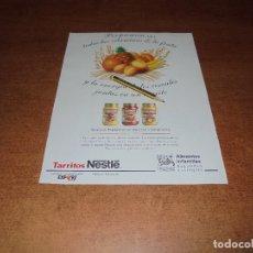 Catálogos publicitarios: PUBLICIDAD 1992: TARRITOS NESTLÉ. Lote 175948204