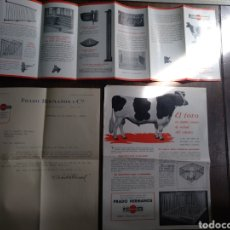 Catálogos publicitarios: CATÁLOGO CARTA COMERCIAL JAMESWAY. EL TORO, ESTABLOS. PRADO HERMANOS. Lote 176252499