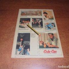 Catálogos publicitarios: PUBLICIDAD 1967: COLA CAO. Lote 176394408