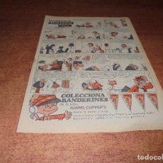 Catálogos publicitarios: PUBLICIDAD 1965: COLA CAO. Lote 176394410