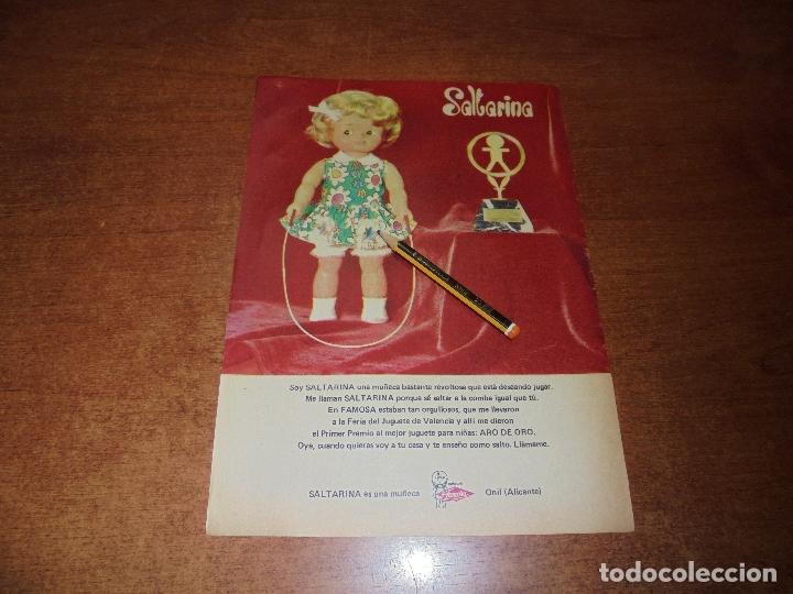 PUBLICIDAD 1973: MUÑECA SALTARINA DE FAMOSA, ONIL (ALICANTE) (Coleccionismo - Catálogos Publicitarios)