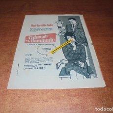 Catálogos publicitarios: PUBLICIDAD 1961: CALMANTE VITAMINADO. NENUCO. PIRAMIDON. COLA-CAO. . Lote 176394590