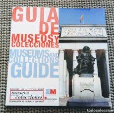 Catálogos publicitarios: CATÁLOGO GUÍA DE MUSEOS Y COLECCIONES COMUNIDAD DE MADRID. Lote 176525182