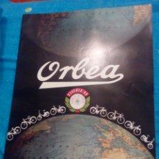 Catálogos publicitarios: CATÁLOGO BICICLETAS ORBEA. Lote 176567497