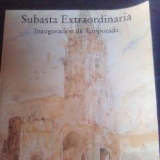 Catálogos publicitarios: SUBASTA EXTRAORDINARIA INAUGURACIÓN DE TEMPORADA 2003 FERNANDO DURÁN.. Lote 176849709