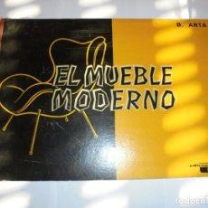 Cataloghi pubblicitari: MAGNIFICO CATALOGO ANTIGUO EL MUEBLE MODERNO 1961 DE BELISARIO ANTA,EDICIONES CEDEL 30 LAMINAS. Lote 177296498