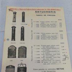 Catálogos publicitarios: CATÁLOGO PRODELIN. PRODUCTOS ELECTRO INDUSTRIALES . Lote 177367042