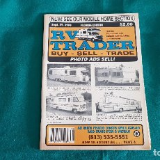 Catálogos publicitarios: RV TRADER MOBILE HOME SECTION (1993) MOTOR HOMES, CAMPERS, ETC.. Lote 195146331