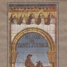 Catálogos publicitarios: TALLERES DE HIJOS DE DANIEL ZULOAGA. SEGOVIA. CERÁMICA ARTÍSTICA PARA CONSTRUCCIONES. CATÁLOGO. Lote 177612523