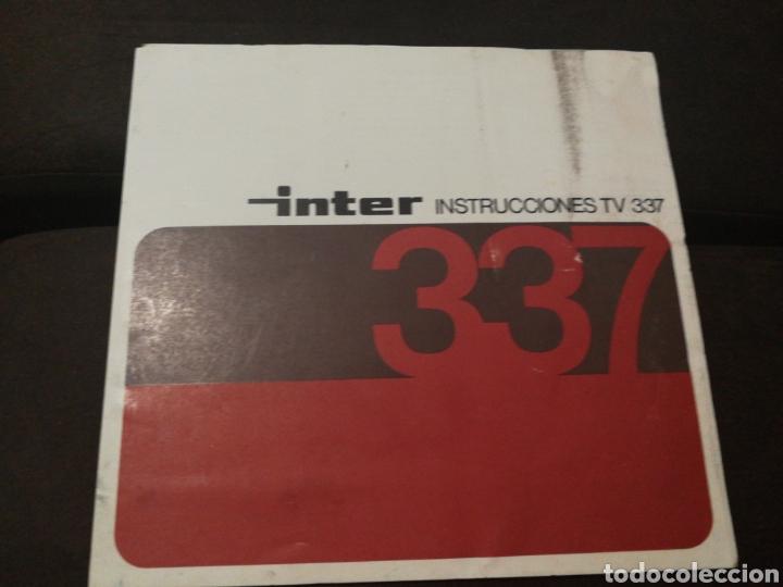 CATÁLOGO INTER TRIPTICO (Coleccionismo - Catálogos Publicitarios)