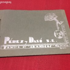 Catálogos publicitarios: CATÁLOGO ABANICOS - PÉREZ Y DASÍ, S.L. - VALENCIA - SPAIN - AÑO 1933 - 90 PÁGINAS. Lote 178051480