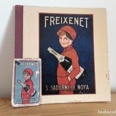 Catálogos publicitarios: FREIXENET, FOLLETO Y LIBRETITA. Lote 178070153