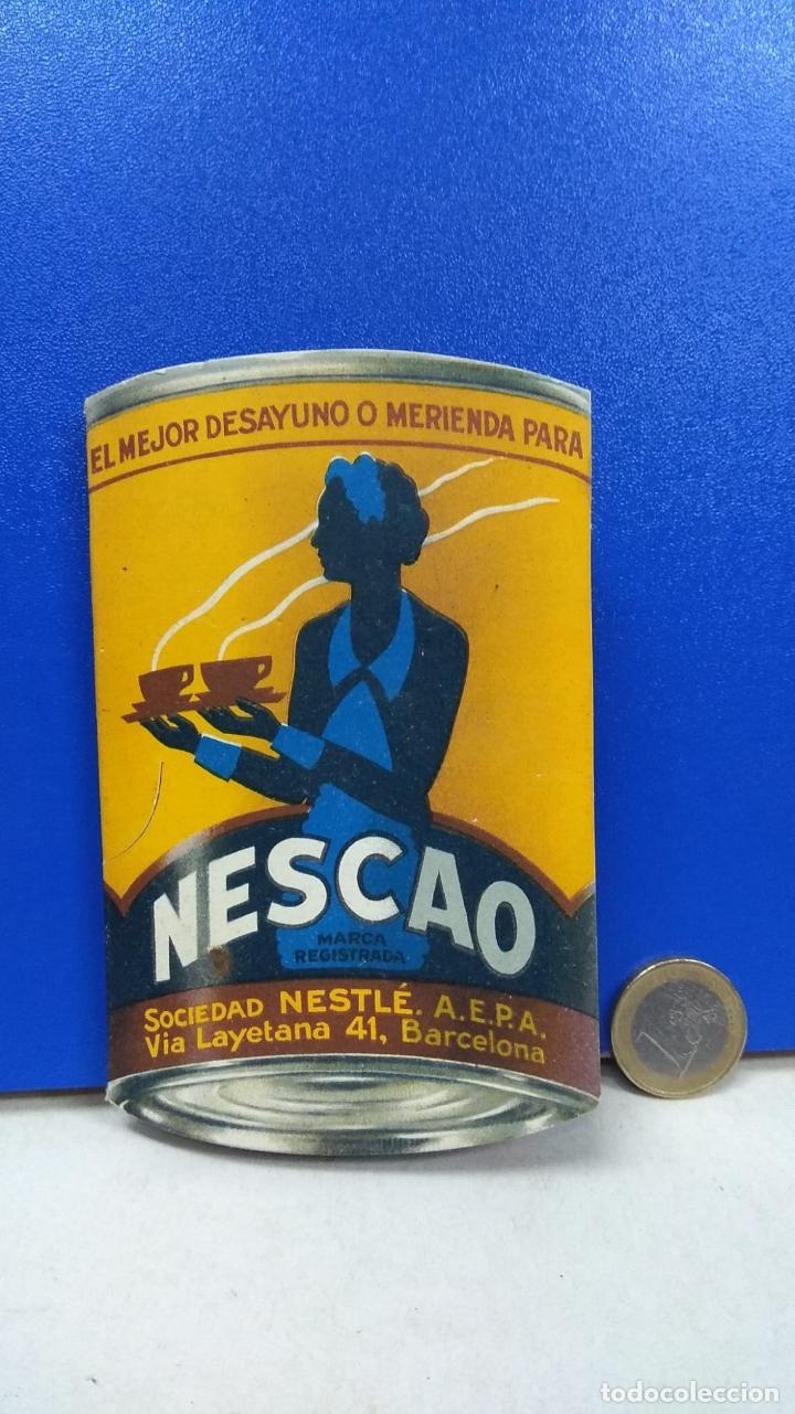 PRECIOSO PAYPAY PAY PAY PUBLICIDAD NESCAO (Coleccionismo - Catálogos Publicitarios)