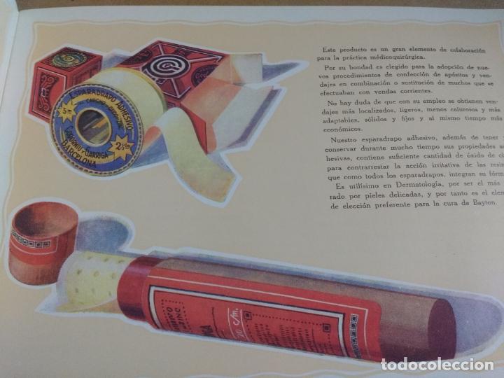 Catálogos publicitarios: ANTIGUO CATALOGO PUBLICITARIO ESPARADRAPO ADHESIVO CODORNIU Y GARRIGA. BARCELONA, VER INTERIOR FOT - Foto 14 - 178186361