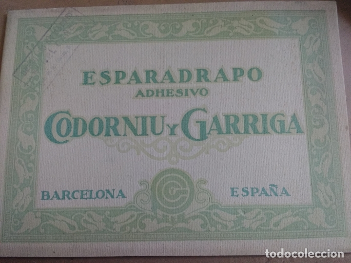 ANTIGUO CATALOGO PUBLICITARIO ESPARADRAPO ADHESIVO CODORNIU Y GARRIGA. BARCELONA, VER INTERIOR FOT (Coleccionismo - Catálogos Publicitarios)