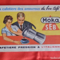 Catálogos publicitarios: CAFETERA PRESION MOKA SEB, MANUAL E INSTRUCCIONES EN FRANCÉS, 12 PÁGINAS. Lote 178220271