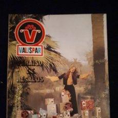 Catálogos publicitarios: CATÁLOGO Nº 7 VALISPAR DE 1973. Lote 178238268