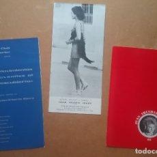 Catálogos publicitarios: JUAN IRIARTE IBARZ FOTOGRAFÍA FOLLETO EXPOSICIÓN FIRMADO Y DEDICADO 1968. Lote 178608896