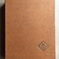 Catálogos publicitarios: CATÁLOGO INDUSTRIAL DE 1971, DE LA EMPRESA DE RUEDAS ÁNGEL FERNÁNDEZ S.A. AFO.. Lote 178630611