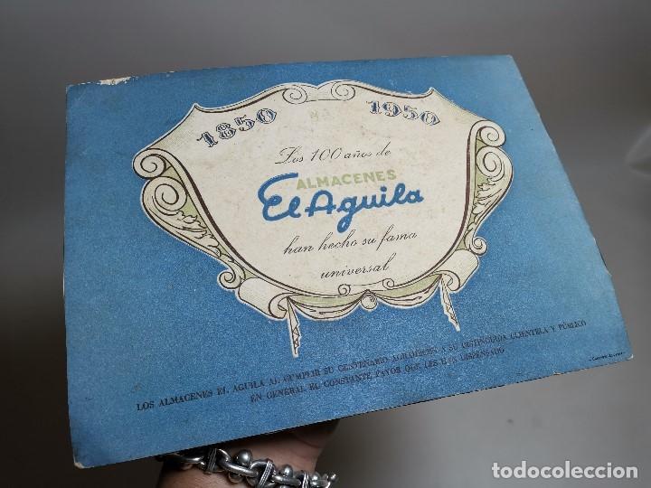 Catálogos publicitarios: CATALOGO PRIMER CENTENARIO ALMACENES EL AGUILA 1850 - 1950 , BARCELONA, MUY ILUSTRADO - Foto 7 - 178644057