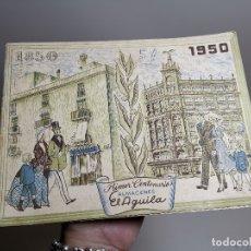 Catálogos publicitarios: CATALOGO PRIMER CENTENARIO ALMACENES EL AGUILA 1850 - 1950 , BARCELONA, MUY ILUSTRADO. Lote 178644057