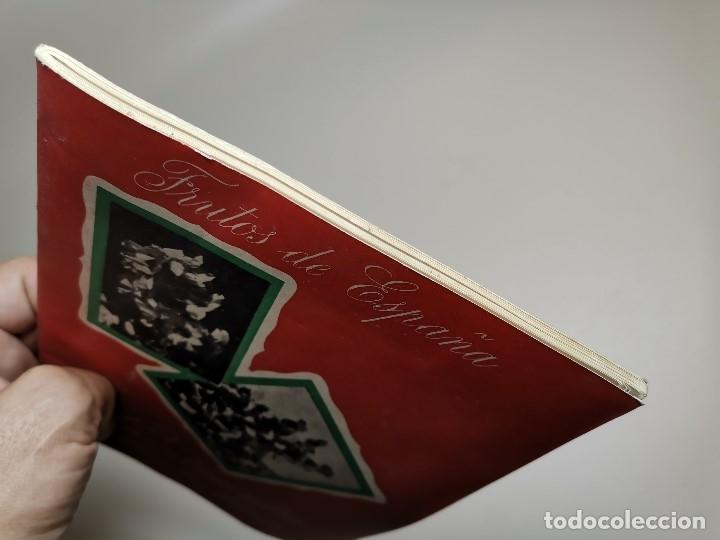 Catálogos publicitarios: CATALOGO FOLLETO LA ALMENDRA Y AVELLANA -I FERIA NACIONAL CAMPO MADRID 1950-SINDICATO FALANGE - Foto 4 - 178851285