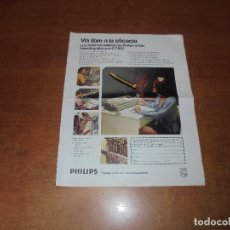 Catálogos publicitarios: PUBLICIDAD 1974: SISTEMA TELEFÓNICO PHILIPS - WATERMAN. Lote 178875480
