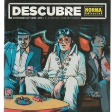 Catálogos publicitarios: DESCUBRE NORMA EDITORIAL. NOVEDADES OCTUBRE 2019. (C/A35). Lote 178877595