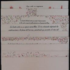 Catálogos publicitarios: MIJAS LA CASITA ROJA PUBLICIDAD EN TARGETAS MUY RARO. Lote 179153042