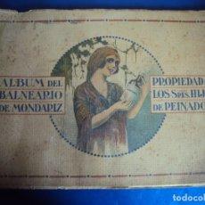 Catálogos publicitarios: (CAT-191002)GALICIA.PONTEVEDRA.'ALBUM DEL BALNEARIO DE MONDARIZ' 18 FOTOTIPIAS TAMAÑO 23X31CM. 8 PAG. Lote 179187470